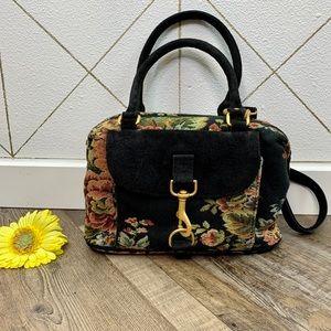 Carpet Bags of America Floral Convertible Bag